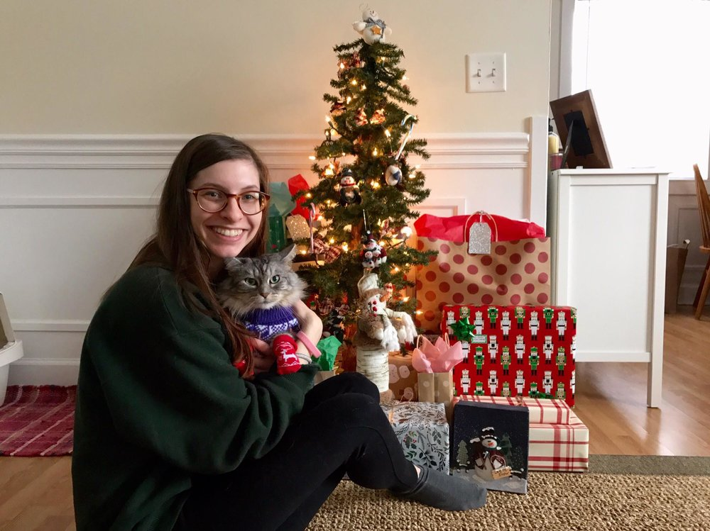 Merry Christmas from Hannah and Charlie!