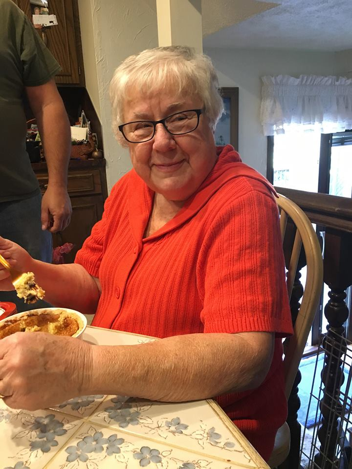 Grandma Finch and the Sour Cream Raisin Pie Abby made her!