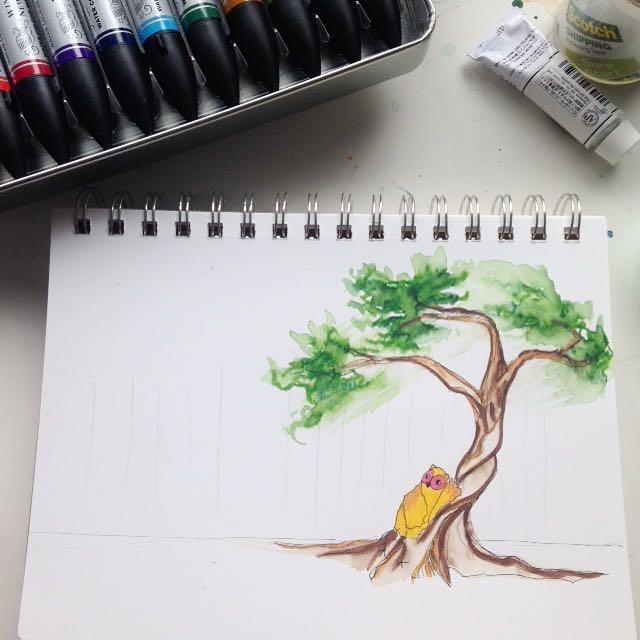 14/100 - Thinking Tree