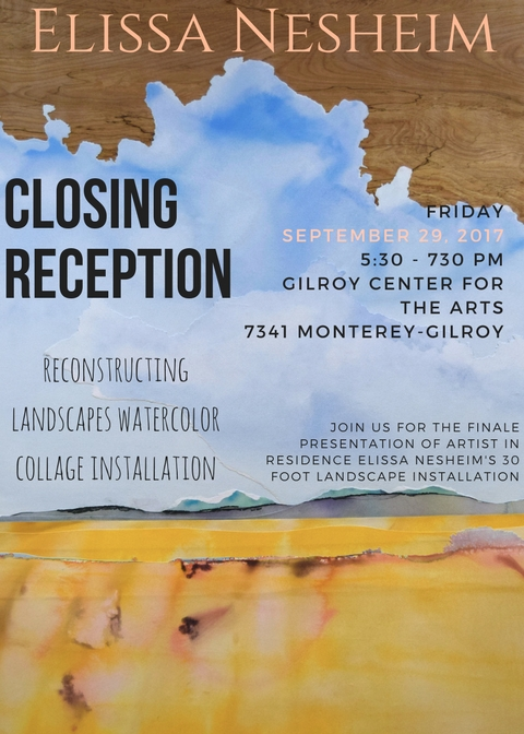 Hope to see you here in Gilroy for the presentation of my completed project!
