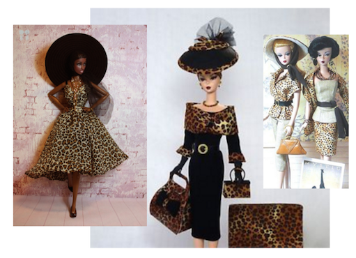 Fashion Barbies & Various Couture Dolls