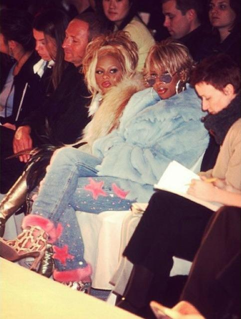 Mary J Blige at Mark Bouwer FW Collection, 2000