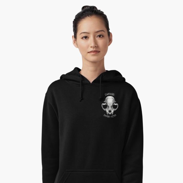 Carousel Sniper Victim Logo Unisex Lightweight Hoodie