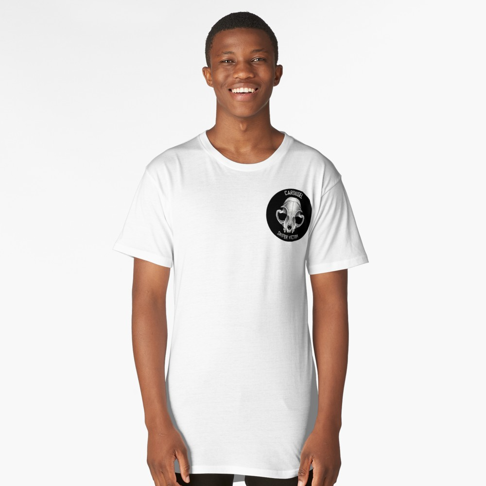 Carousel Sniper Victim Logo Mens Long Fit Tee