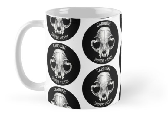 Carousel Sniper Victim Logo Totally Woke Coffee Mug
