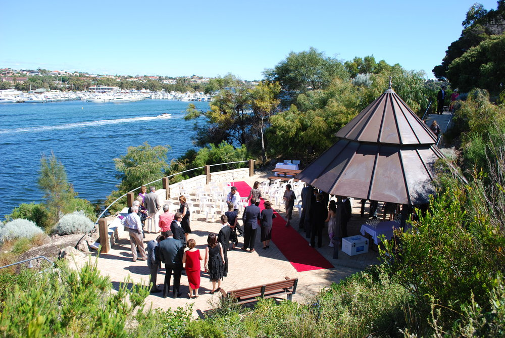 Overlooking Swan River at Mosman Park