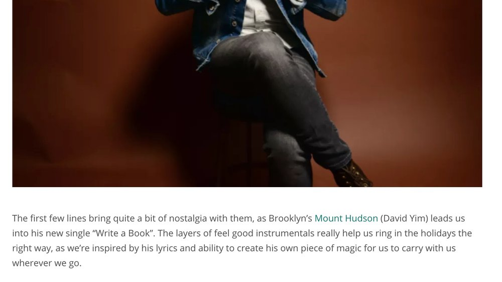 """Imperfect Fifth - """"We're inspired by his lyrics and ability to create his own piece of magic for us to carry with us wherever we go."""""""