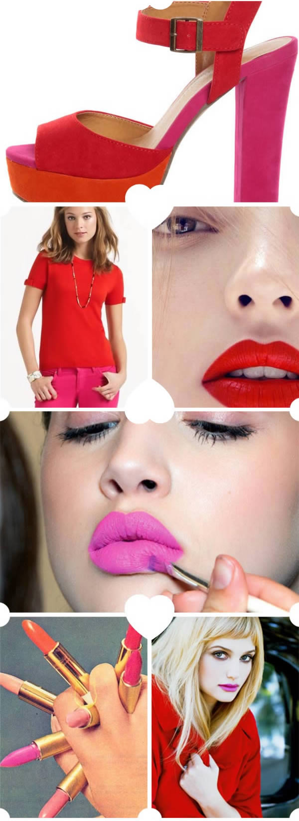 red and fuschia color story for Valentine's Day 4