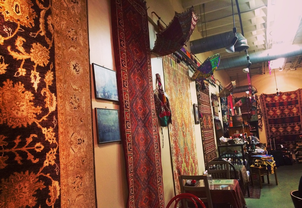 Rugs at Café Turko