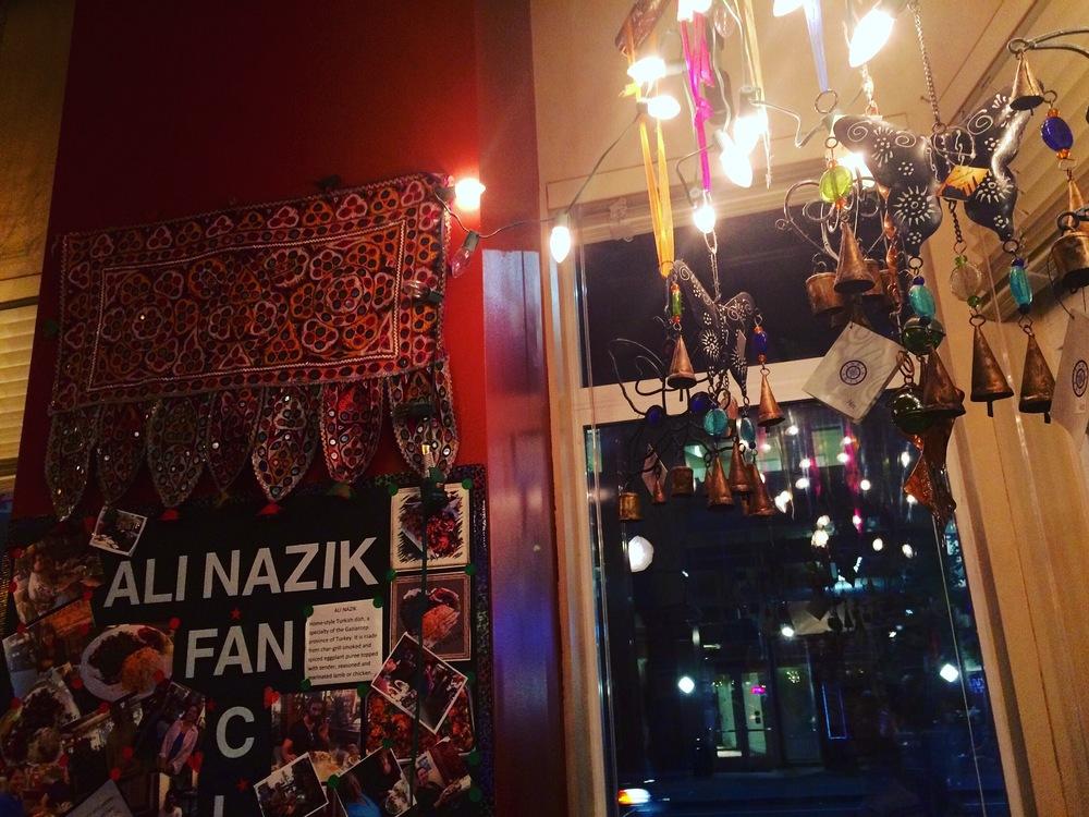 The Ali Nazik Fan club at Café Turko