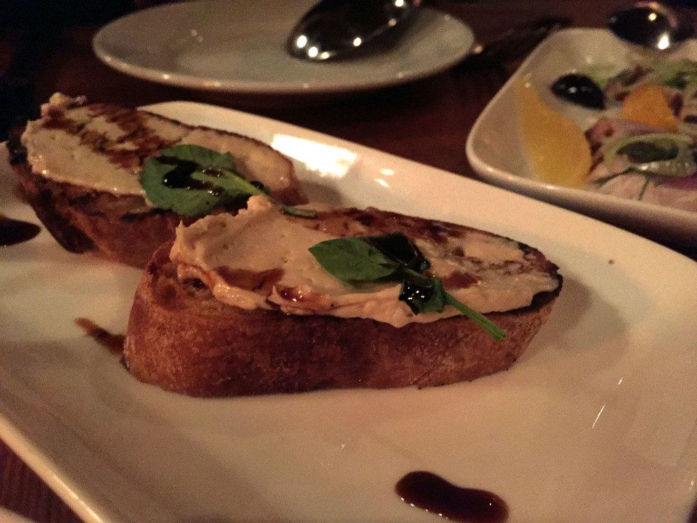 Foie Gras Mousse with Crostini