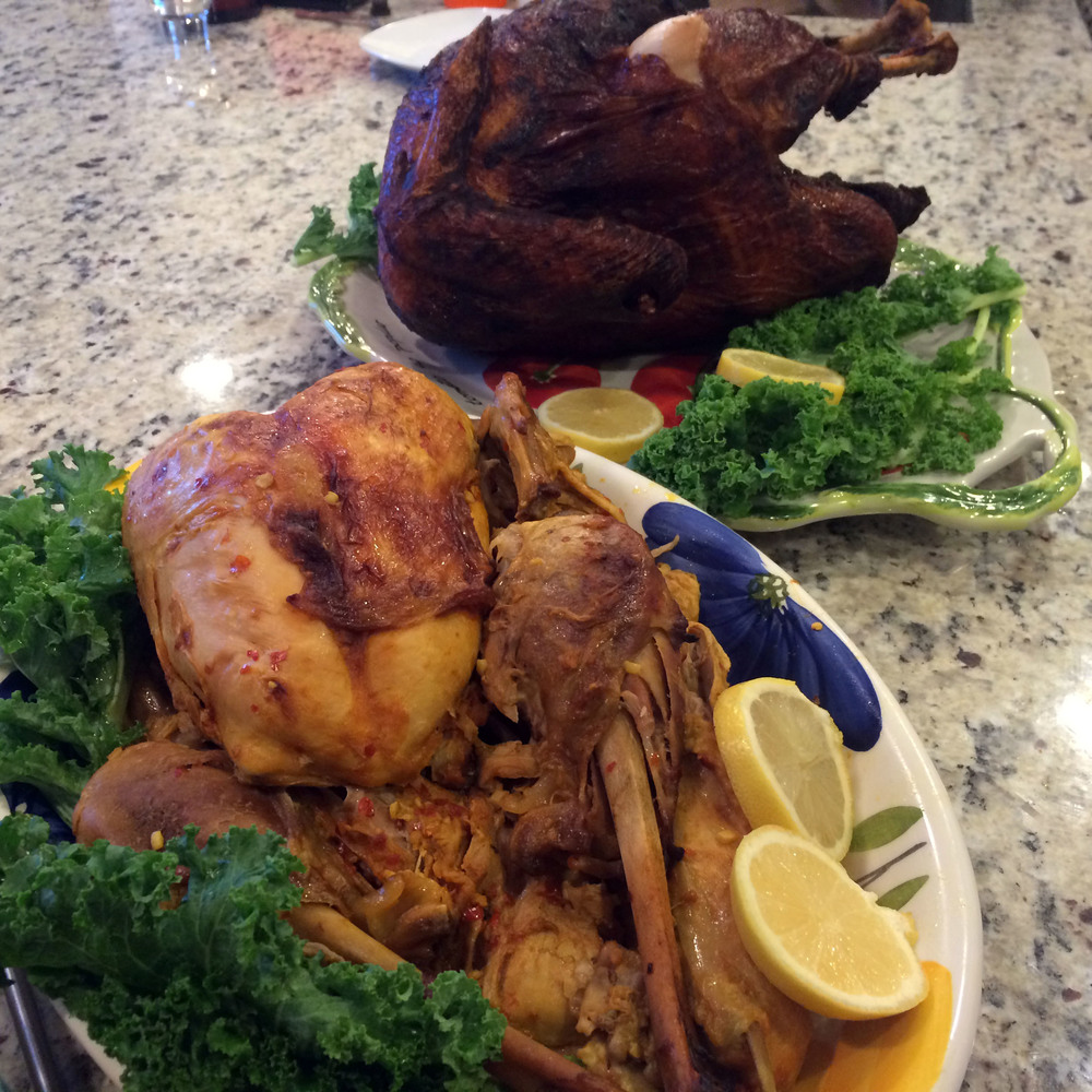 Pot Roasted Turkey & Deep Fried Turkey #2