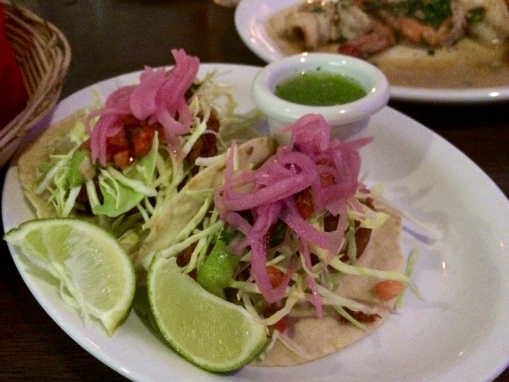Tacos (Camarones and Pescado)