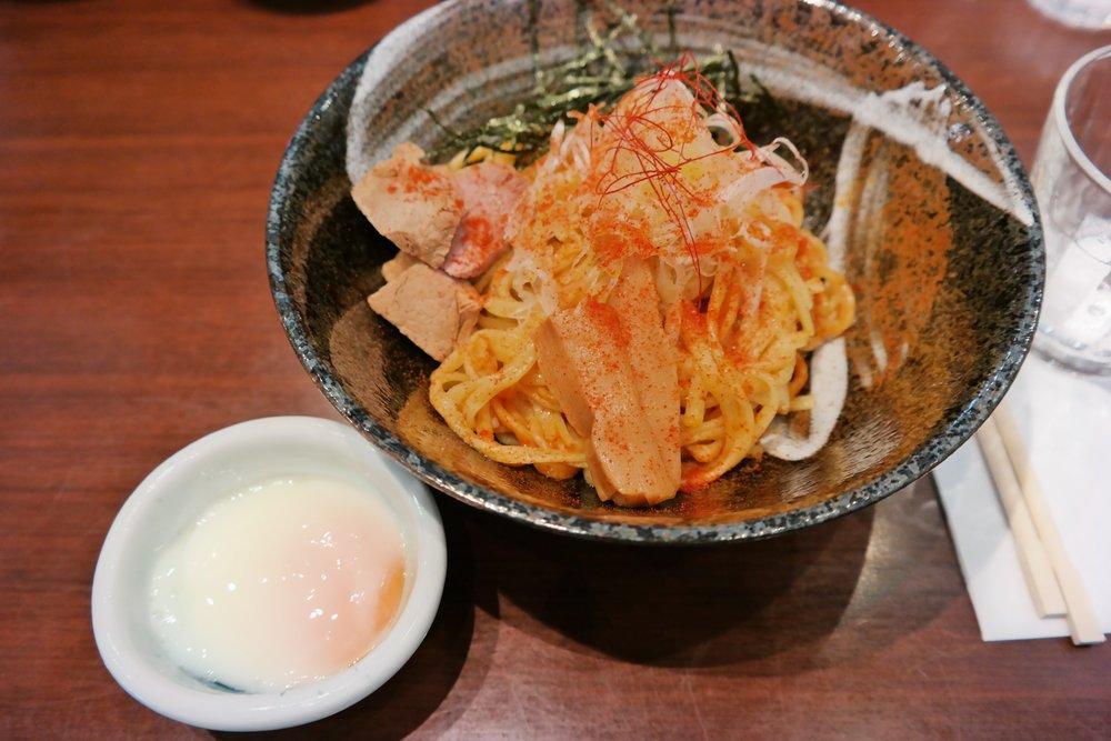 Aburo soba noodles