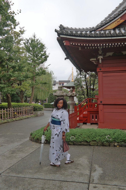 Kimonos in Asakusa
