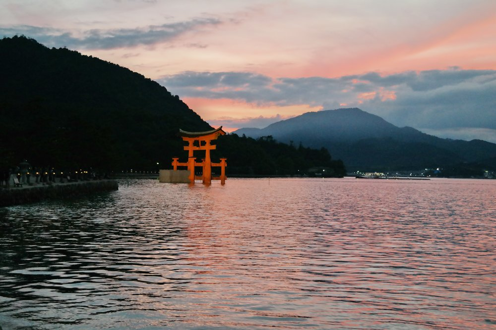 Miyajima floating torii gate