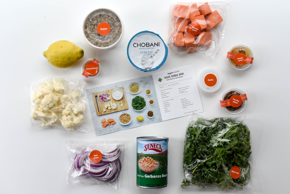 veggie quinoa bowl ingredients