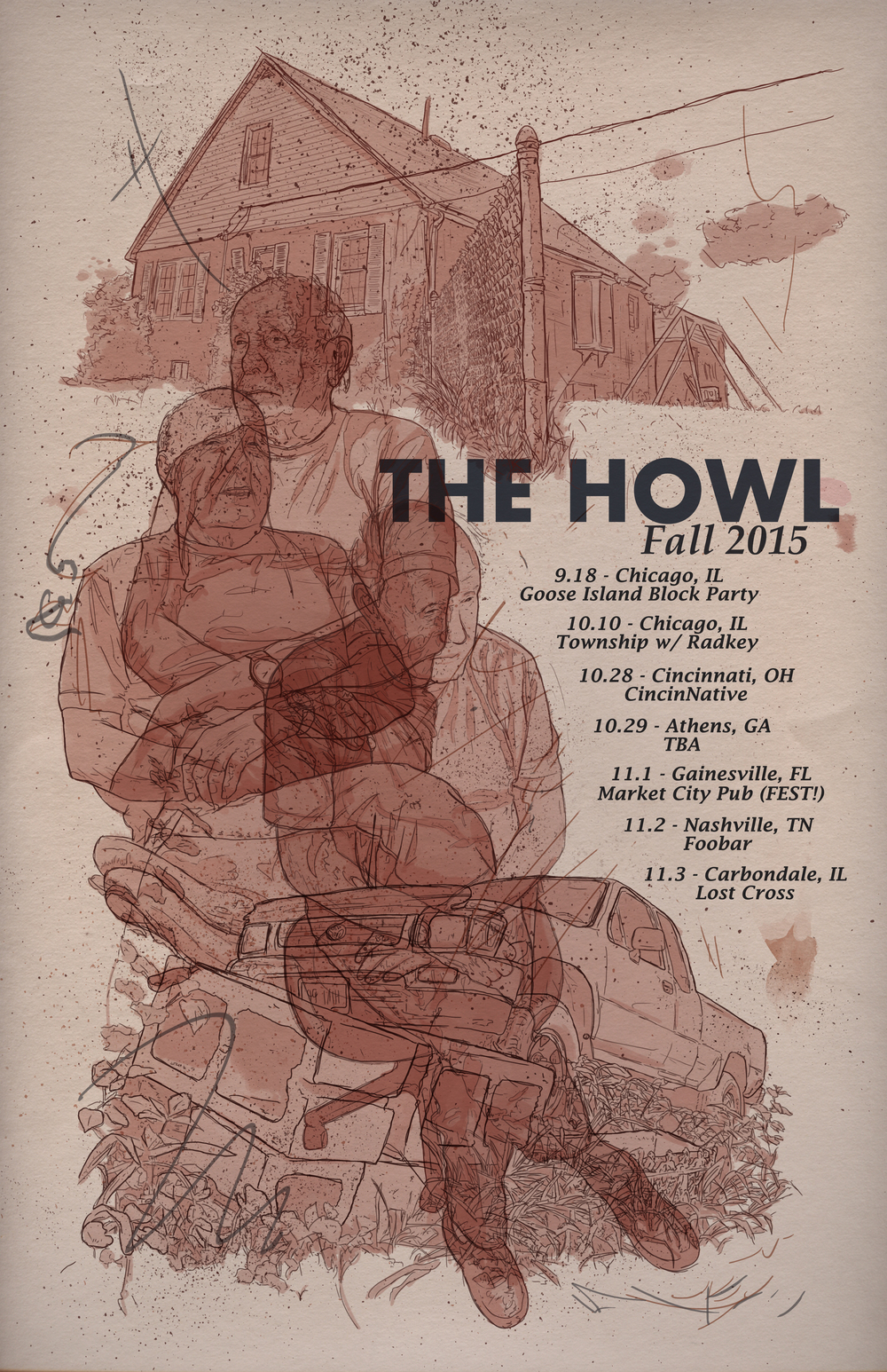 The Howl Fall 2015 Tour
