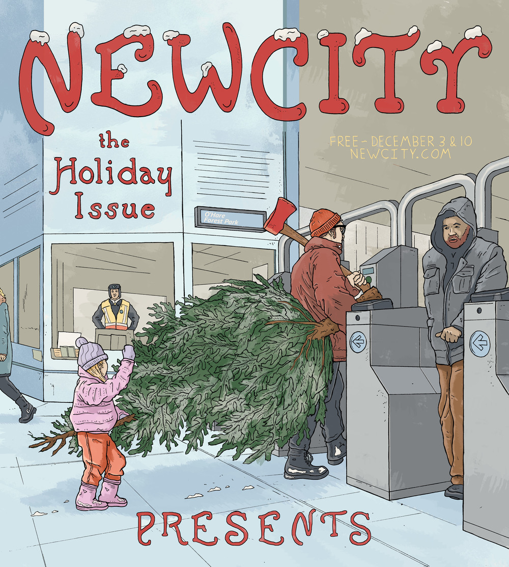 Holiday Train - Newcity Holiday Issue 2015