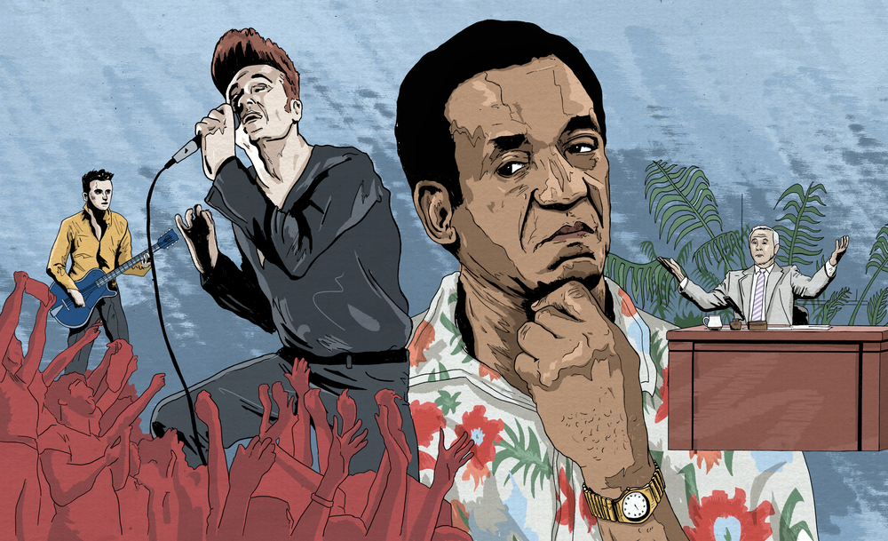 25 Years Ago, Morrissey Ruined Bill Cosby's Appearance on 'The Tonight Show' by Dan Ozzi