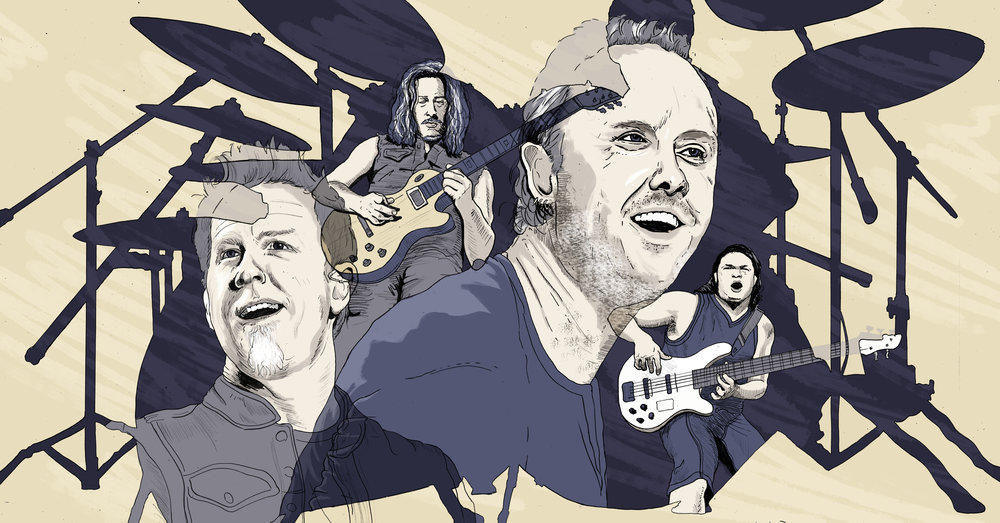 Metallica / an interview with Lars Ulrich by Kim Kelly