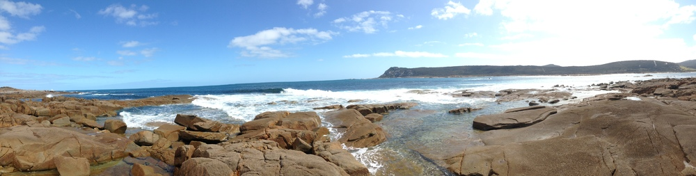 I had no qualms being dropped off on this island in the sun to get some photos and surf footage.