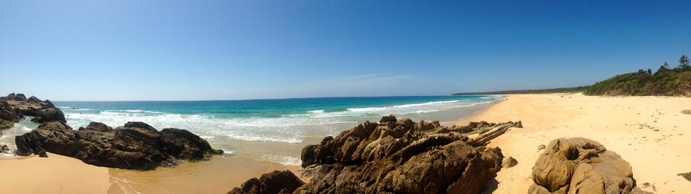 The south head beach..