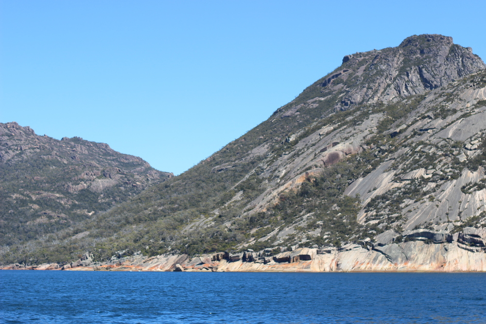 The Granite rocks of the Mount Amos, the Hazard Ranges.