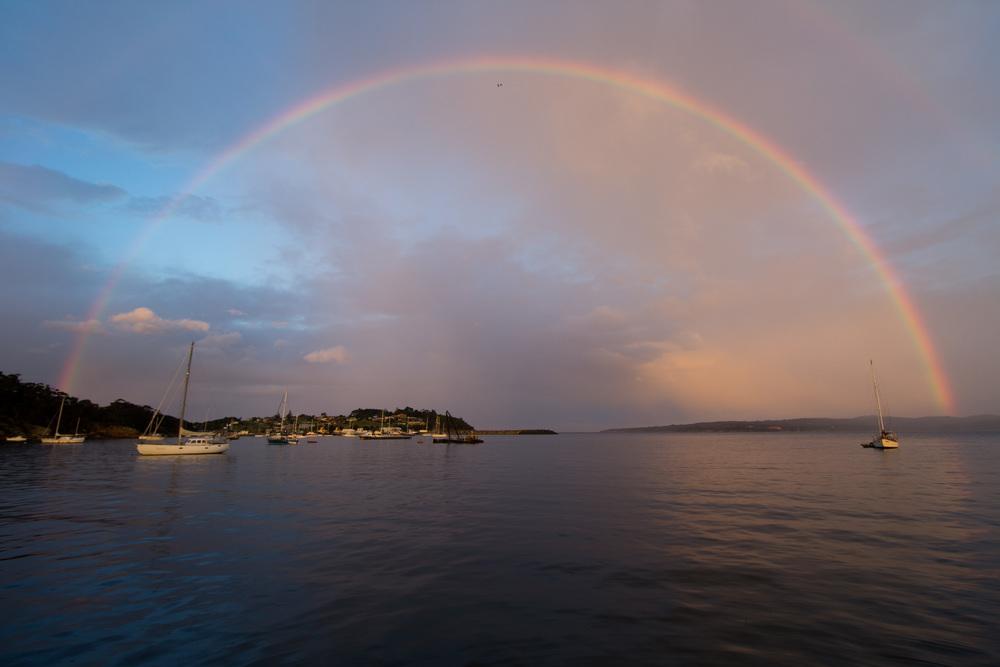 Rainbows over Eden