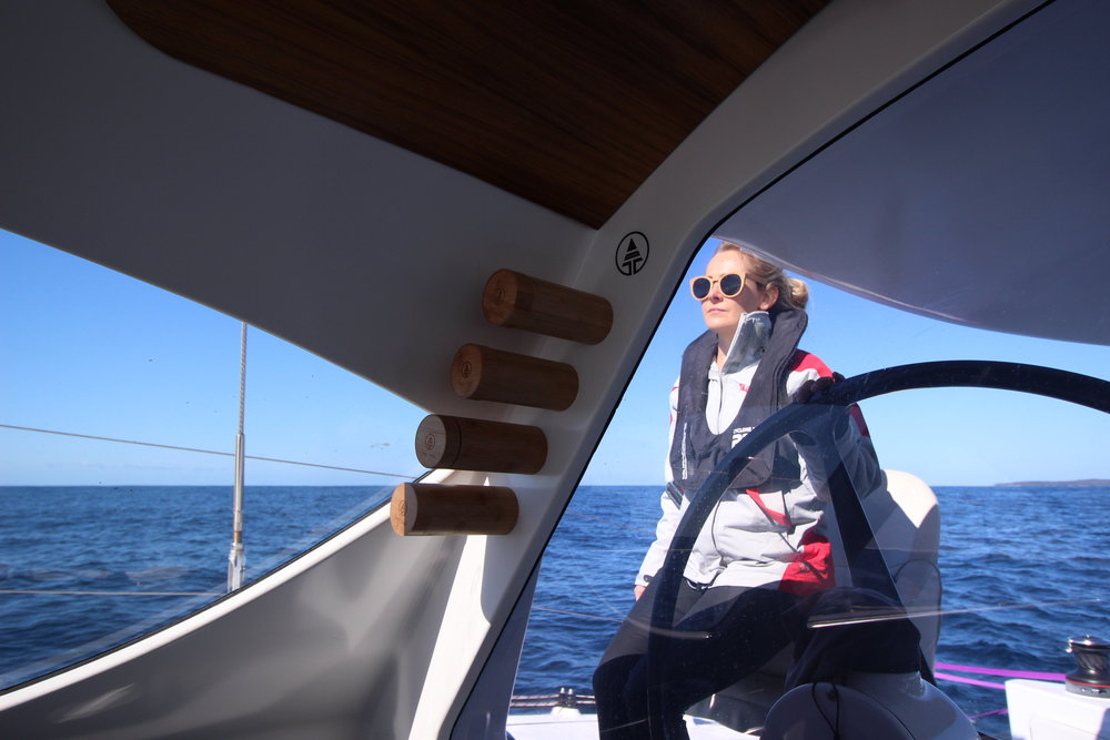 Liss at the Helm