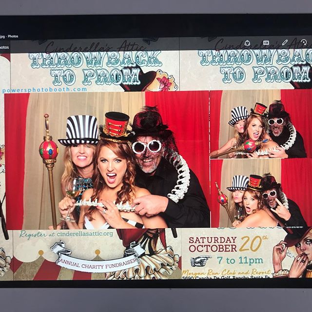 Throwback to Prom  under the big top - event for Cinderellas Attic - everyone looked fantastic ! #cinderellasattic #morganrun #luxuryphotobooth #kimmyboughtabus