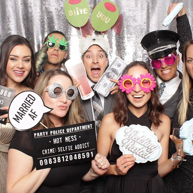 The fun never stops with powers photo booth ! Congrats Katie & Chris on your December 1st Wedding ! #luxuryphotobooth #greengablesweddingestate