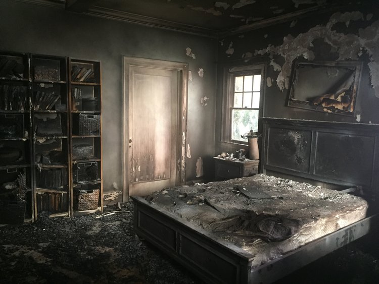 Tiffany's Apartment [Post-Fire]