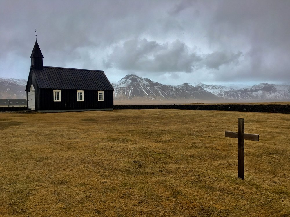 Budir Black Church, Iceland
