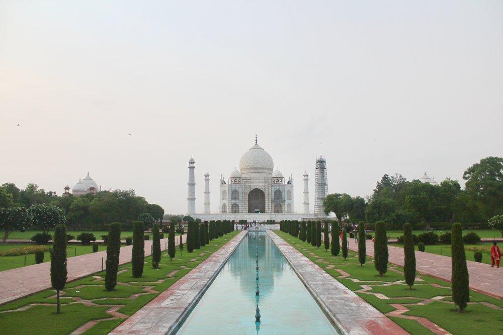 Taj Mahal . July 2017