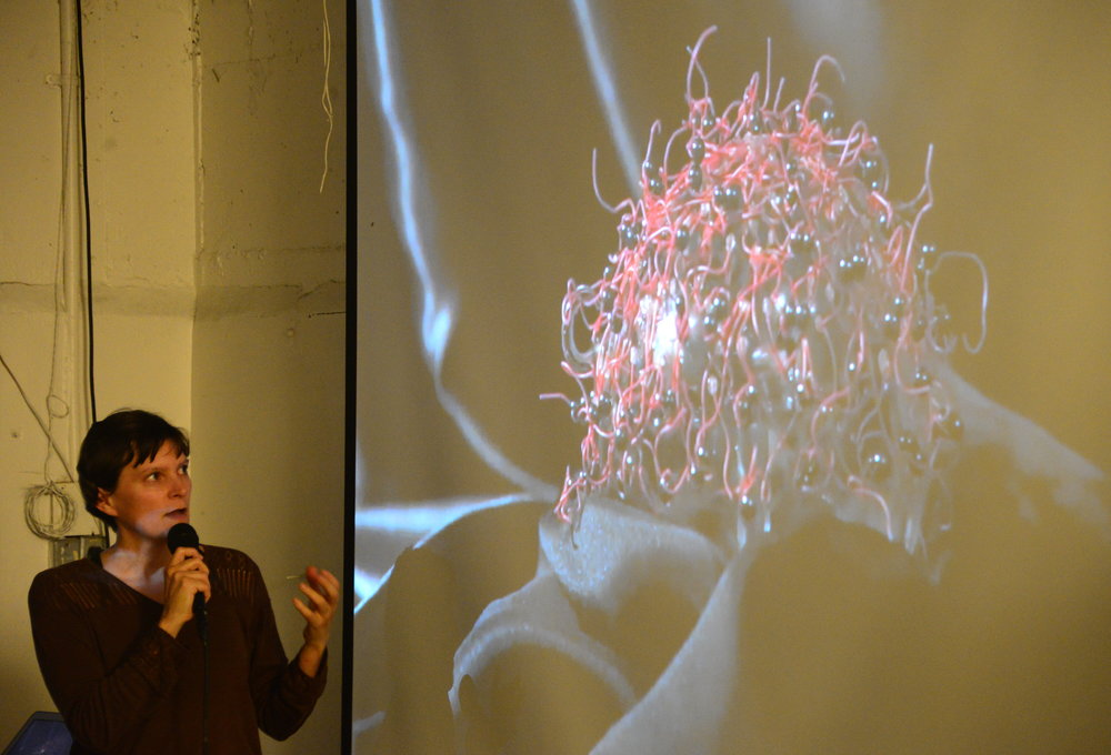 Cere Mony discusses her kinetic sculptures