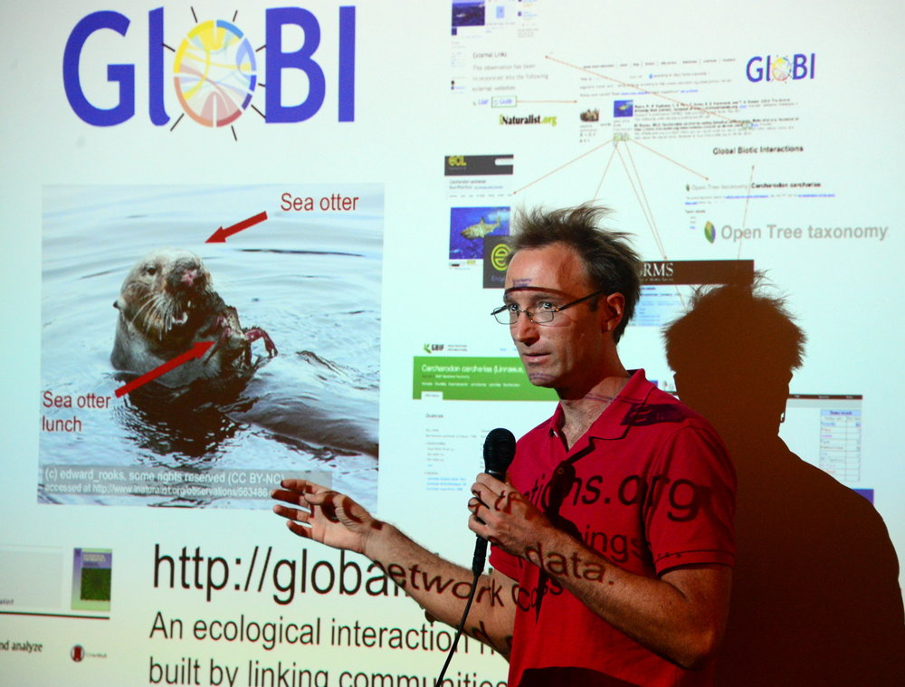 Jorrit Poelen talks about his project the Global Biotic Interactions database. http://www.globalbioticinteractions.org/