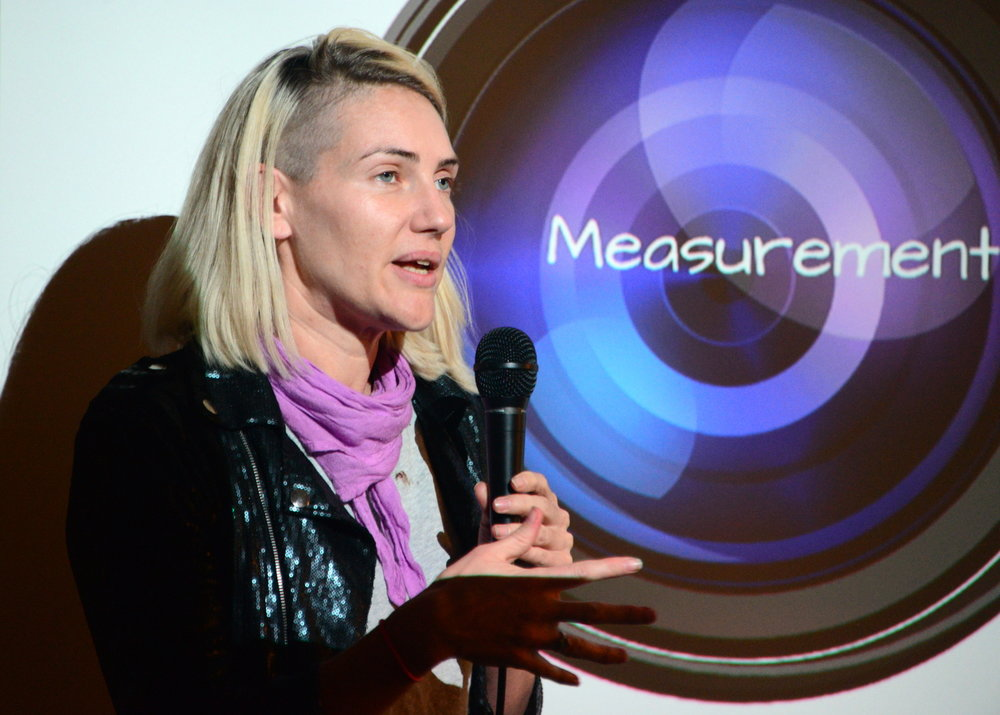 Katie Patrick talks about getting impact out of effort using a combination of measurement, game-ifying behaviors we want to see in the world. http://www.katiepatrick.com/