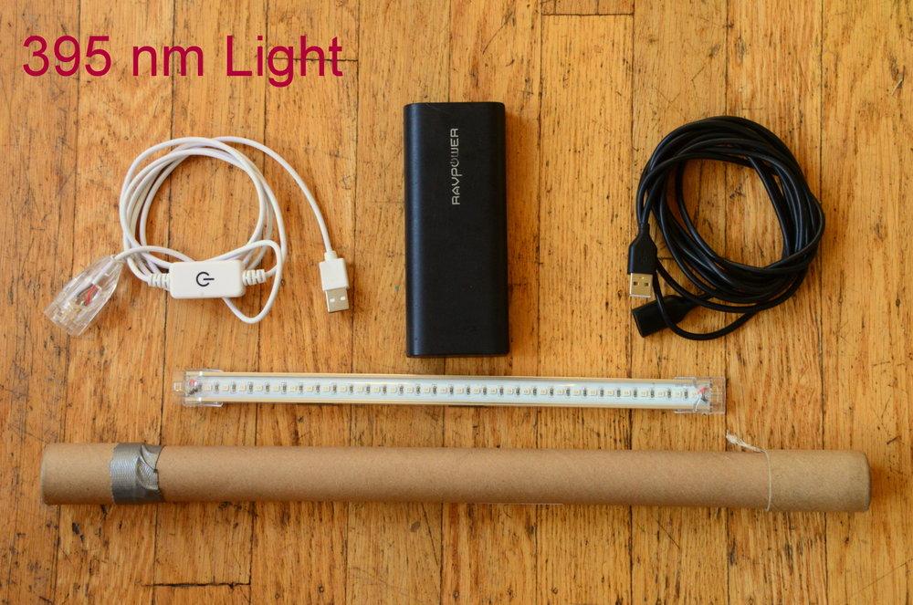DIY Moth Light system