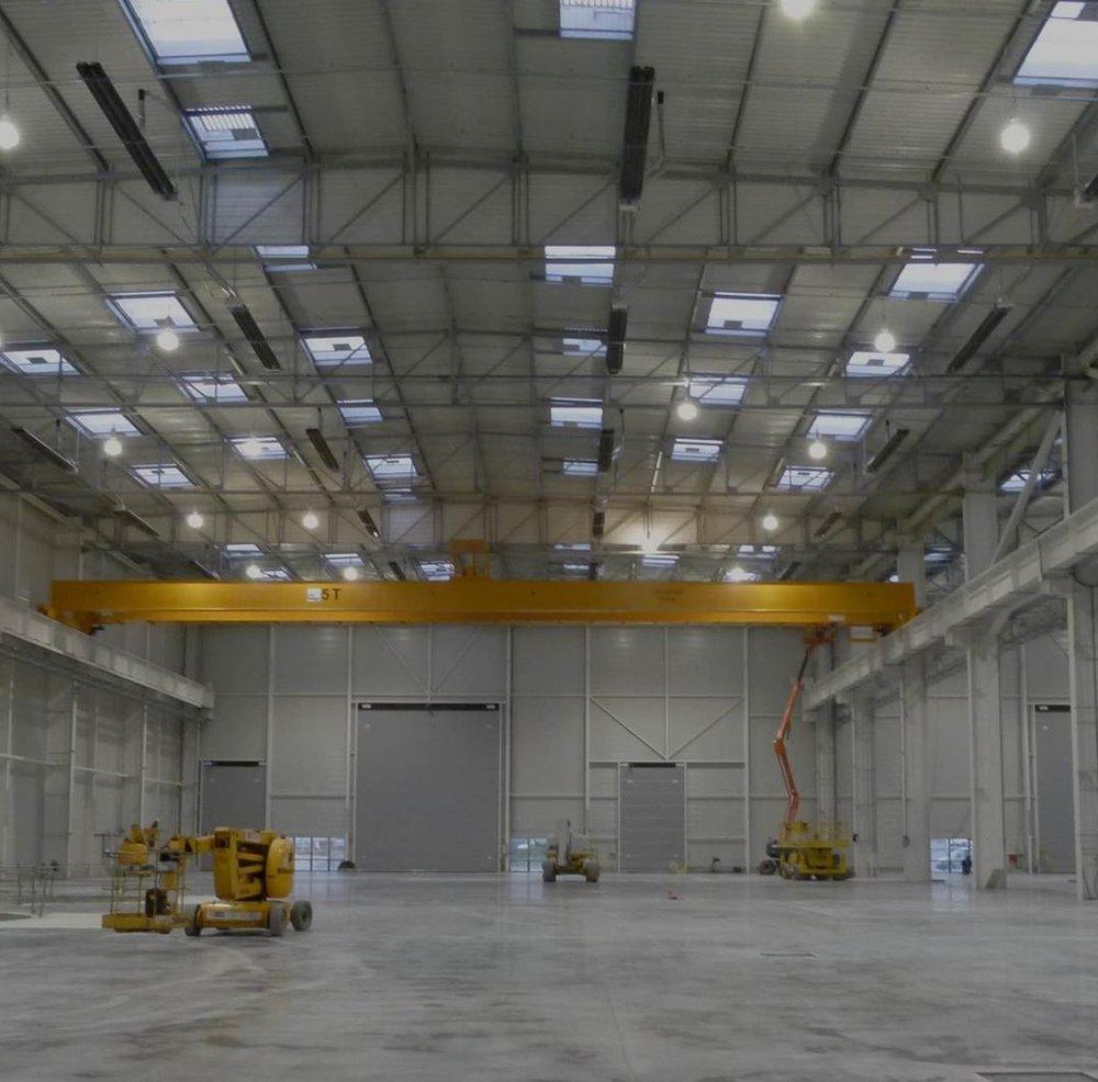 Eclairage industriel - En savoir plus ->