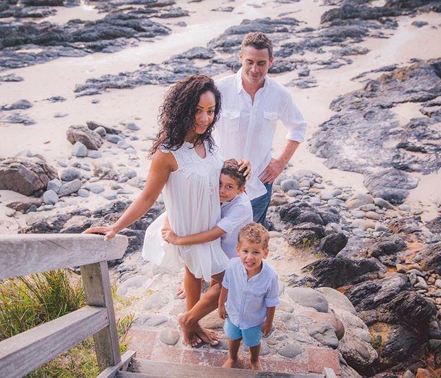 { t h e  B a i l e y  f a m i l y ♡ #gorgeous #familyportraits #wategos #beach #byronbay xxx #fineart #destination #weddingphotographer #familyphotographer #portraitphotographer #fineartweddingphotography #laceandgrain @laceandgrain