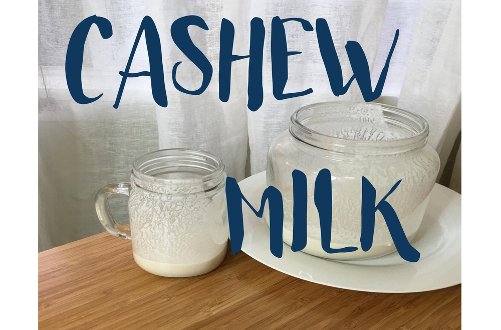vegan cashew milk