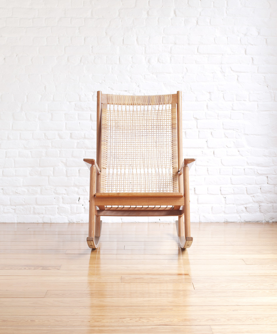 Rocking Chair Model 532 A By Hans Olsen