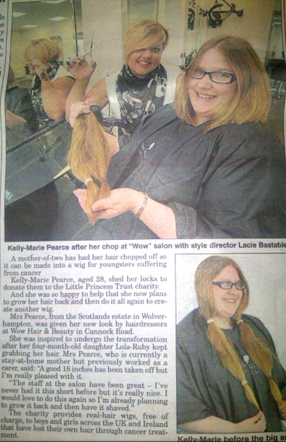 Apr Rep-WOW-Wolverhampton Express & Star-4th April 2013-Charity chop at Cannock Rd Salon.jpg