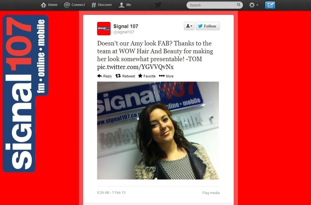 Feb rep-WOW-Signal 107 Twitter-7th Feb 2013-Press appt.jpg