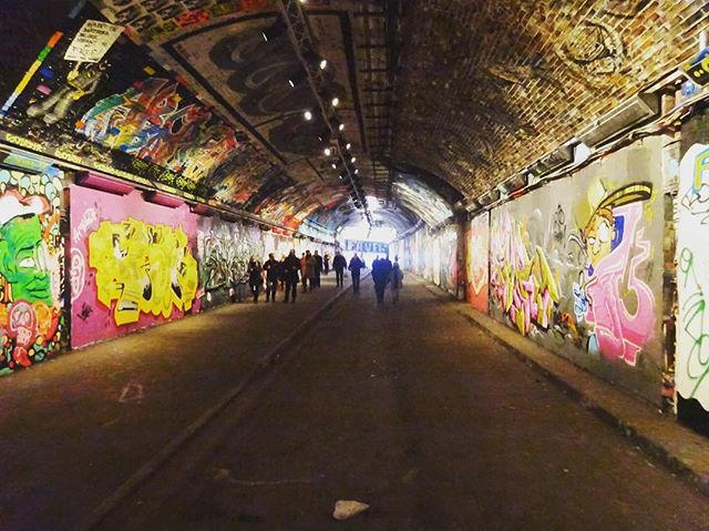 Waterloo's underbelly earlier this morning. . . . . . #spacetocreate #tunnelvision #tunnelporn #locationscout #outandabout #waterloo #london #graffiti #production #location #venue #urban #lfw #recce #venuesearch #creative #event #hiddenlondon #railwayarches #instadaily