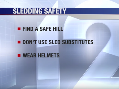 Tips to Keep Kids Safe While Sledding – CCHMC*