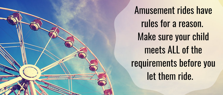 Amusement Rides: Following the Rules Really Does Matter