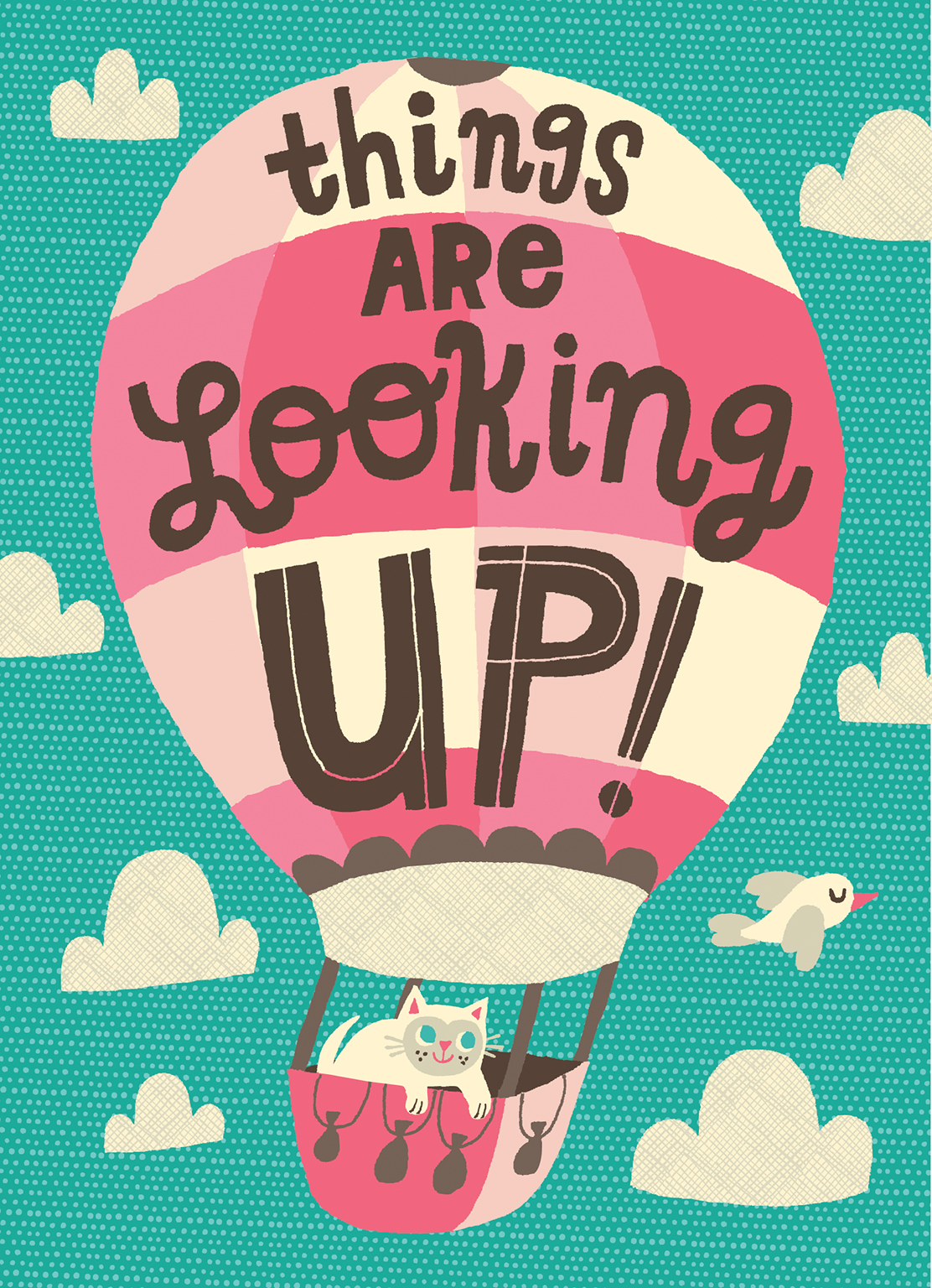 Things Are Looking Up Allison Cole Illustration