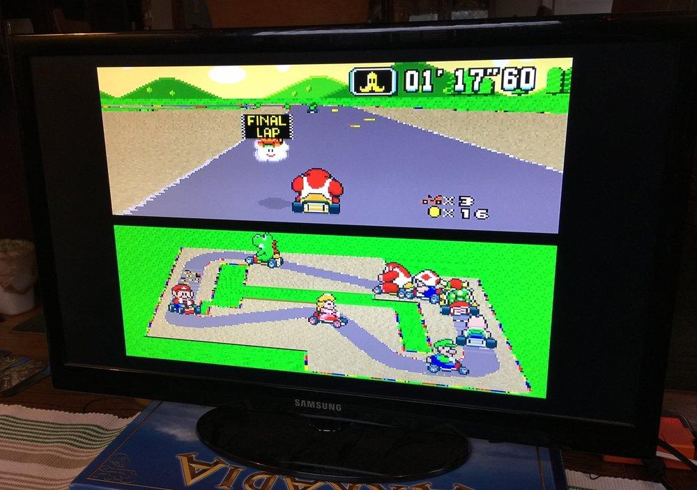 Super Mario Kart; SNES